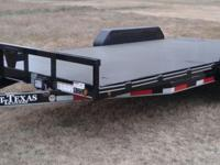 Brand New Steel Deck Dovetail 14K Trailer ( 16 FOOT )