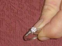 i Have a beautiful 14k wg diamond engagement ring, its