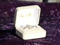 I HAVE A BEAUTIFUL DIAMOND ENGAGEMENT RING SET I