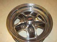 14x6 Oldsmobile Wheels.  RWD 78-88 Full Chrome wheel.