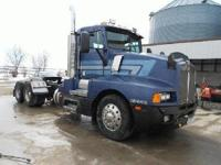 1987 Kenworth T600 Day Cab. 200,000 miles on overhaul.