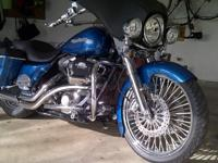 Road King FLHRS Custom. Dragon Fly fairing, Marine
