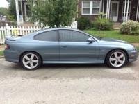 2006 Pontiac Gto . 73xxx miles 6 speed trans. Blue/grey