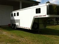 Terrific Condition 2006 Featherlite 3 horse slant