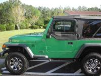 2005Jeep WranglerGreen4x4 wheel drive69,000 milesNew