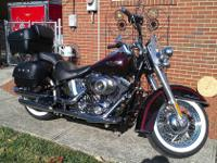 2011 Harely Davidson FLSTN Softail Deluxe. This bike is