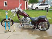 2005 BIG DOG CHOPPER with 10,980 miles, in Excellent