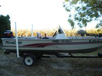 2000 Mirrocraft boat.15 1/2 ft.25horse merc outboard 2