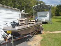 Please call owner Ralph at . Boat is in Elm Grove,
