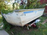 15.5 V hull fishing boat must pick up in evansville