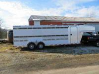 2006 Alumline All American trailer. It is a 24 feet
