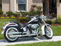 2011 Harley Davidson FLSTN Softtail Delux - Two Toned