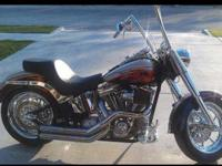 Up for sale is a 2006 Harley Fatboy CVO. This Screamin'