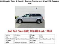 2008 Chrysler Town&Country Bright Silver Metallic