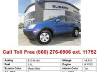 2008 Saturn VUE Mystic Blue Front-wheel Drive 4-CylXE