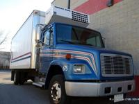 2003 Freightliner FL60 20ft Reefer.3126 Cat @