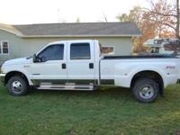 7.3 L Ford Diesel four wheel-drive Dually Lariat with