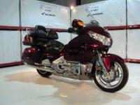 Check out this beautiful 2006 Honda GL18HPM Goldwing at