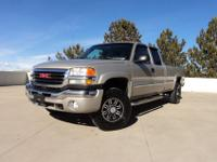 This 2004.5 GMC 2500HD Ext Cab SLT Duramax Diesel is