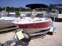 In Pensacola Florida. This 2007 Sea Ray 185 Sport is a
