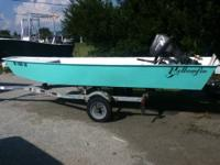 Very nice custom alindale fiberglass skiff with