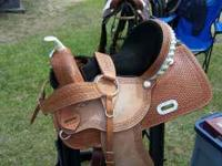 New Barrel Saddle for sale. Bought it new in Texas for
