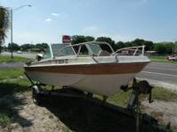 1976 Riviera Bowrider with a 40 H.P. Johnson outboard