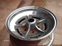 set of Buick Riviera wheels, was told 4 are 65-70 and