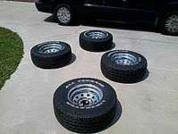 5 lug. Desent condition. I can send pics just let me