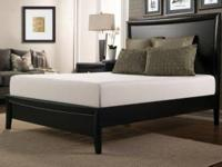 "New 15"" california king memory foam mattress by vivon."