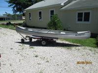 Michi-Craft t15,36' beam,71 lbs, ranked for 5hp