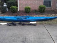 15' Perceptions Sword kayak. Has actually 2 flush