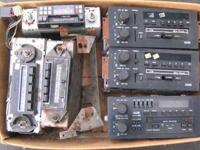 Car radios from the 1980?s Some work, some don?t. 7