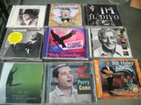 HAVE 15 CDS FOR SALE  FOR 20.00 THATS 1.33 EACH CALL ME