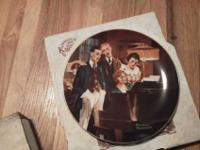 I have two Norman Rockwell collectors plates from