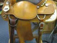 "15"" Crates All Event Saddle With Added Silver #2275-2"