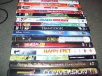 I have 15 different movies for sale im asking $25 for