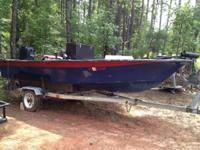I've got a 15' Fabuglas fishing boat, new front deck