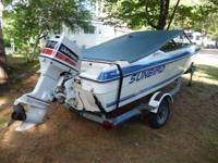 Offering our 15' Sunbird with galvanized trailer due to