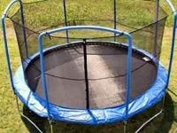 Barely used. This is a 15 ft. trampoline safety net