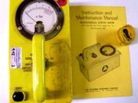 NEW CONDITION (NEVER ISSUED) (1) 715 GEIGER COUNTER
