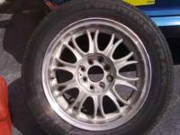 15 inch 4 lug universal rims for sale.The rims are