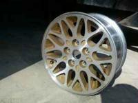 i have 5 : 15x7 aluminum rims. lug pattern is 5x4.5