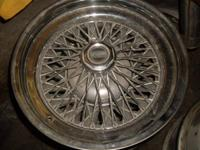 I got a set of 4 chrome american racing wire wheels