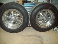 "AVAILABLE:. 15"" inch Crager Tires w / New Tires $600.00"