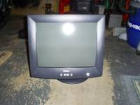 For sale here is a Dell 15 inch Computer Monitor. This
