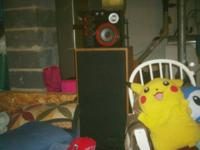 for sale is a set of 15 inch sharp speakers there 150