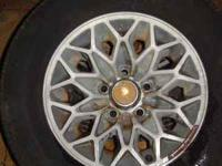 15 by 7 Snowflake wheels from a 1977-1981 Trans Am,