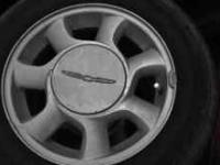 15 inch Thunderbird wheels with centercaps will need