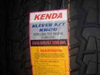 Brand New Never Mounted 185/60/15 Kenda KR17 Tires $220